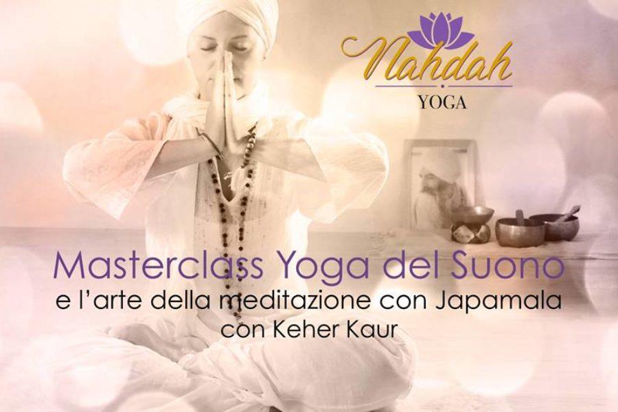 16 Marzo 2019 Yoga del Suono e meditazione con Japamala ore 21